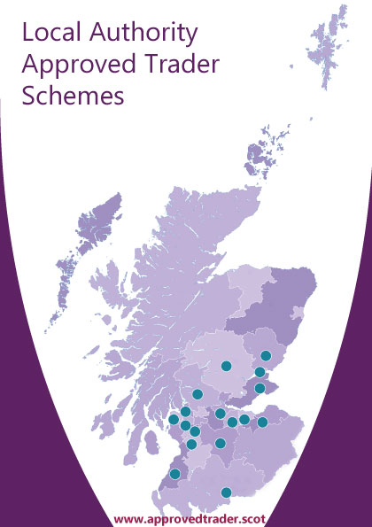 Map of Scottish Trusted Trader Schemes