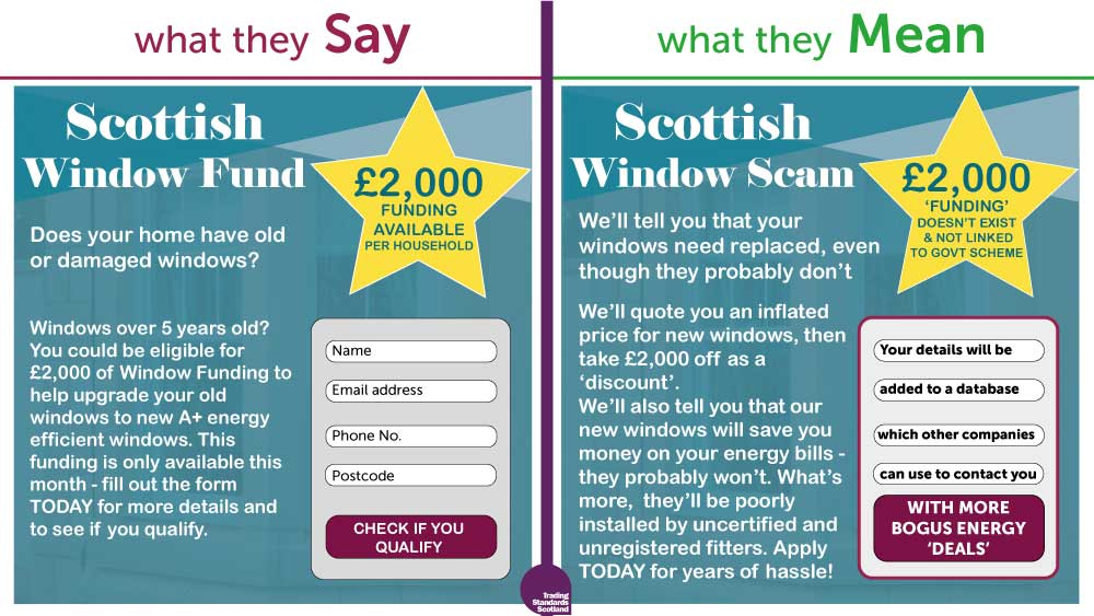 Trading Standards Scotland suspends misleading energy advertising accounts